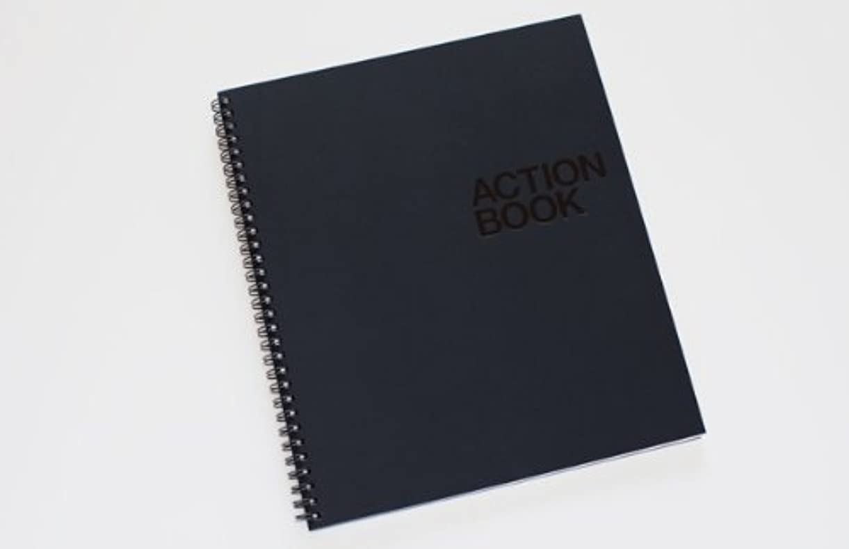 Behance, Action Method Action Book - Blue (8.5