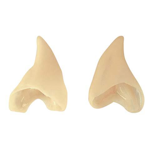 Toyvian Elfenohren Cosplay Zubehör Fee Gefälschte Ohren Prothetische Ohr 4 STÜCKE