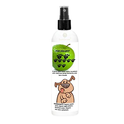 SunGrow Anti-Chew Spray, Deters Chewing and Biting by Dogs,...