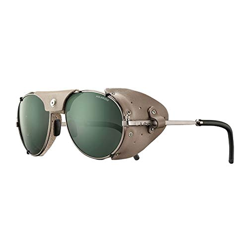 Julbo Cham Mountain Sunglasses - Polarized 3 - Brass/Leather