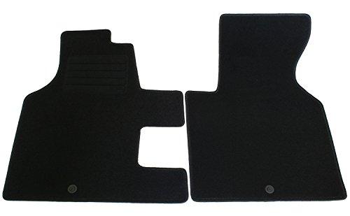 AD Tuning GmbH HG2118T Velours Passform Fußmatten Set, Schwarz