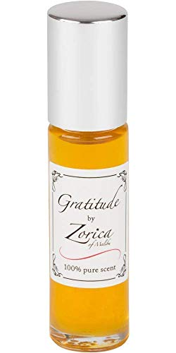 Gratitude All Natural, Pure Essential Oils Perfume, Roll-on 10ml