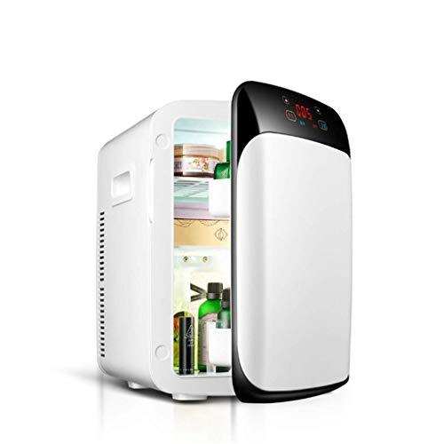 GUOCAO Mini Nevera Calefacción eléctrica Radiador / 15L Refrigerador portátil Dos Coches de refrigeración con termostato Digital Refrigeradores
