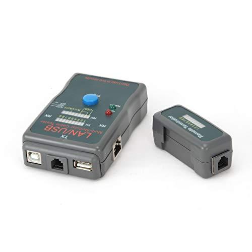 12 negro Velleman 37902 Red de Cable Tester para RJ45 RJ11