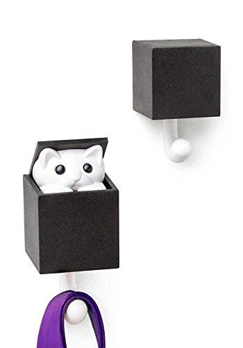 Kitt-A-Boo muurhaak kleur zwart