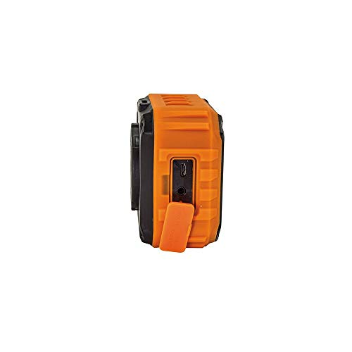 Product Image 3: Klein Tools AEPJS1 Wireless Speaker, Portable Jobsite Speaker Plays Audio and Answers Calls Hands Free, Durable Enough for Worksite Use