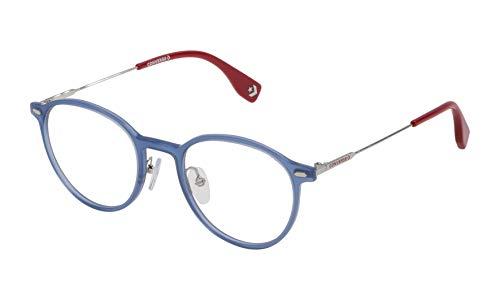 Converse VCO064Q4903GR Gafas, Shiny Opal Blue, 49/21/140 Unisex Adulto