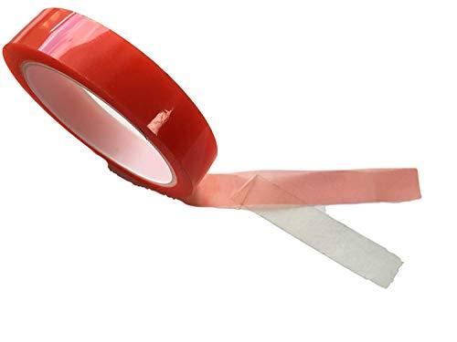 Dubbelzijdig plakband, extra sterke stickytape, doorzichtig dun, dubbelzijdig plakfolie, montage tape, voor binnen en buiten, werkplaats, huishouden, 5 mm of 10 mm of 15 mm of 20 mm. 7mm