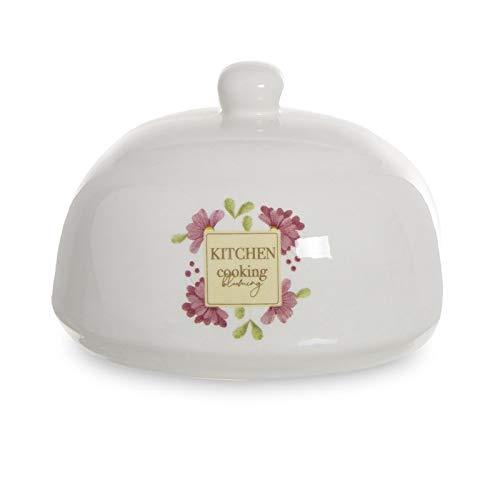 Dcasa Estropajero de cerámica con Estropajo