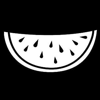 17センチメートル* 7.8センチメートルFettaジAnguria FruttaクネオモーダAdesiviデカルコマニー自動スタイリングネロ/アルジェントS3-6680 瑛太-えいた 健太郎 そうま (Colore : Argento)
