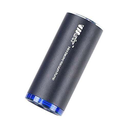 Storerine Tragbare Handstaubsauger Kleine Haushaltsvakuumverpackung Luftpumpe Pumpen Lebensmittelkonservierung Schwarz
