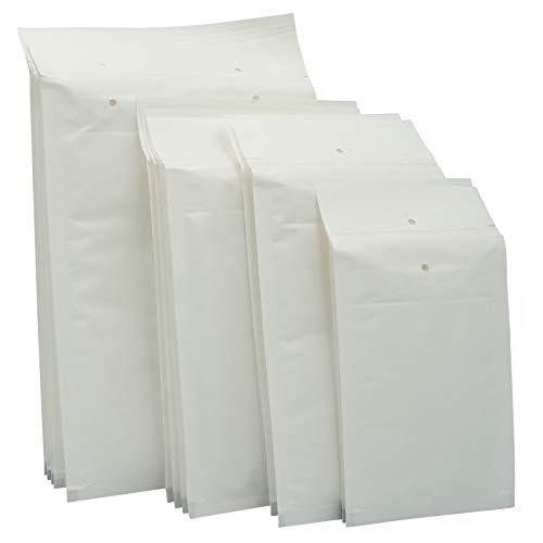 100 Stück Luftpolsterumschläge in weiss - 3/C - (170 x 225) - Luftpolstertaschen/Versandtaschen - elb-verpackungen