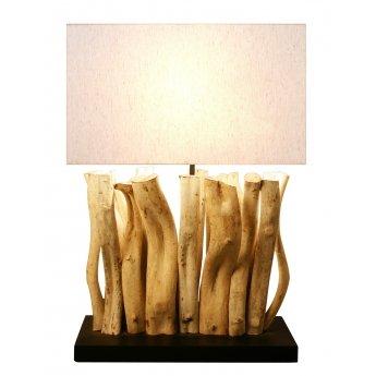 Lampe bois flotté SILIA