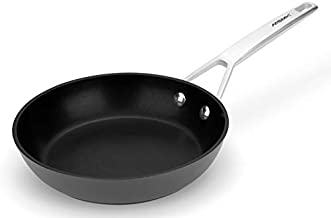 Frying pan,MSMK 8-inch Nonstick Ultra Durable Egg Skillet, Titanium and Diamond Coating From USA Fry Pan, Stainless Steel Induction Compatible, Oven Safe, Professional Kitchen Cookware, Small Black