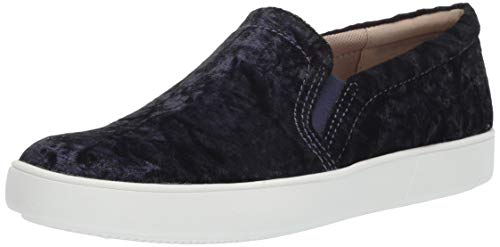 Naturalizer womens Marianne Sneaker, Navy Velvet, 8.5 Narrow US