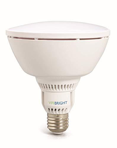 VIRIBRIGHT LED PAR38 Lampe Birne 750069 | 15W | CRI ≥ 90 RA | Warm-weiß 2700°K | 1100 Lumen | dimmbar | 90° < Winkel | statt 75W – 100W Leuchtmittel PAR 38 Reflektor Strahler 120mm ⌀ | E27 Fassung |