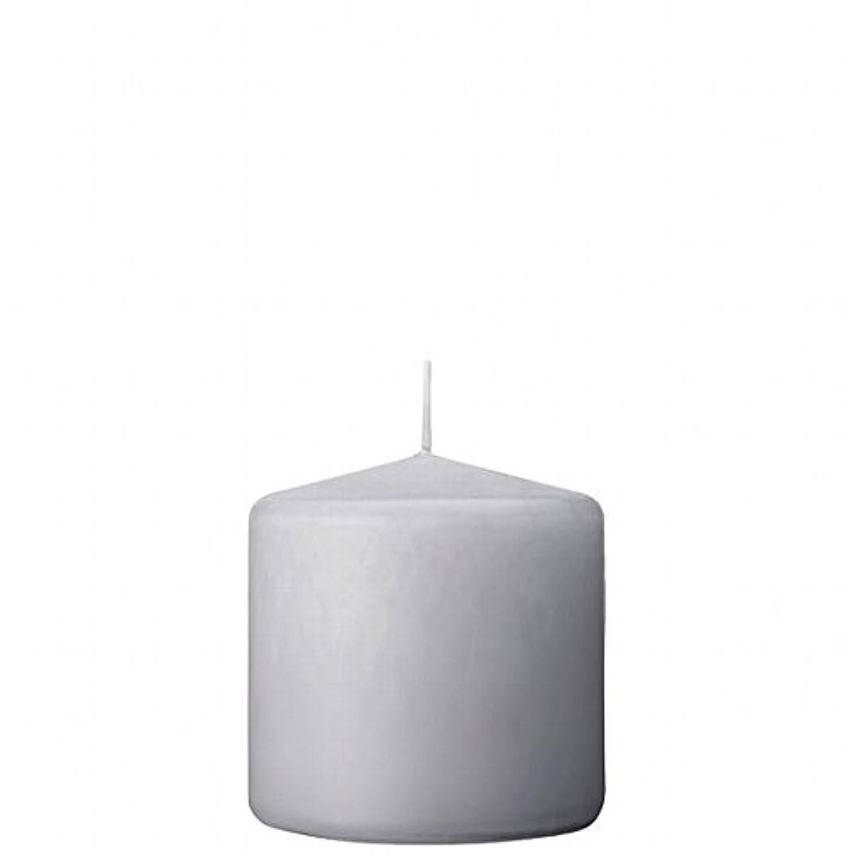 知り合い輪郭インシュレータカメヤマキャンドル(kameyama candle) 3×3ベルトップピラーキャンドル 「 ライトグレー 」