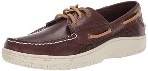 Sperry Mens Billfish 3-Eye Boat Shoe, Classic Brown, 11