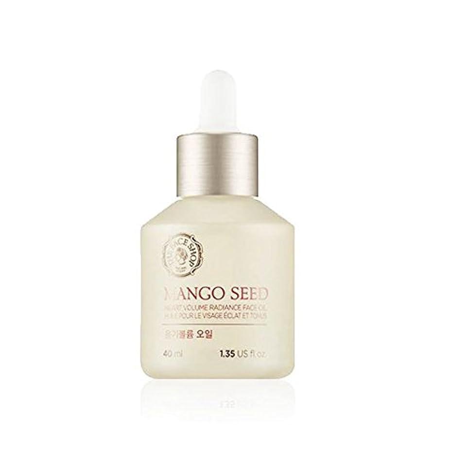 住所最も遠い嬉しいです[ザフェイスショップ] THE FACE SHOP マンゴシード艶ボリュームオイル(40ml) The Face Shop Mango Seed Heart Volume Radiance Face Oil(40ml) [海外直送品]
