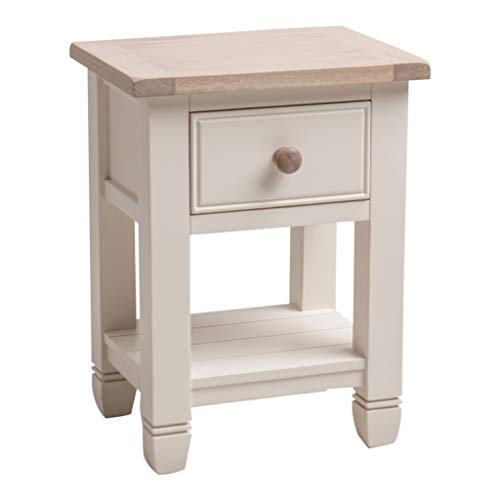 Maine Furniture Co. Faversham Bedside Table in Old White