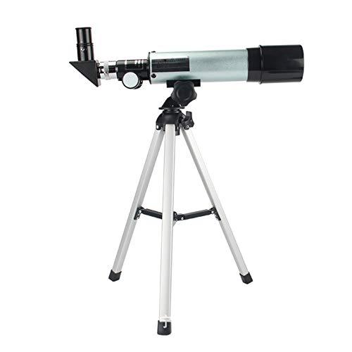 Telescopio para niños y adultos principiantes Telescopio astronómico, apertura de 50 mm 360  MM Telescopio de espacio monocular al aire libre, para cielo / estrella / luna / aves observando, con trí