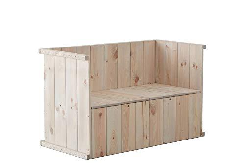 Osoltus houten tuinbank zitbank Sylt Tete a Tete