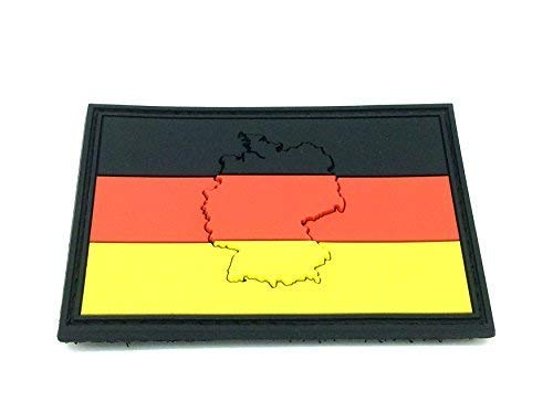 Embossed Duitsland Duitse vlag Airsoft Paintball PVC patch