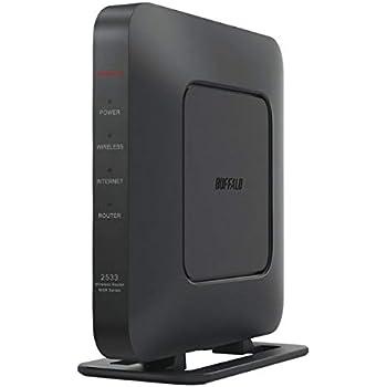 BUFFALO 無線LAN親機 11ac/n/a/g/b 1733+800Mbps AirStation ブラック WSR-2533DHPL2-BK