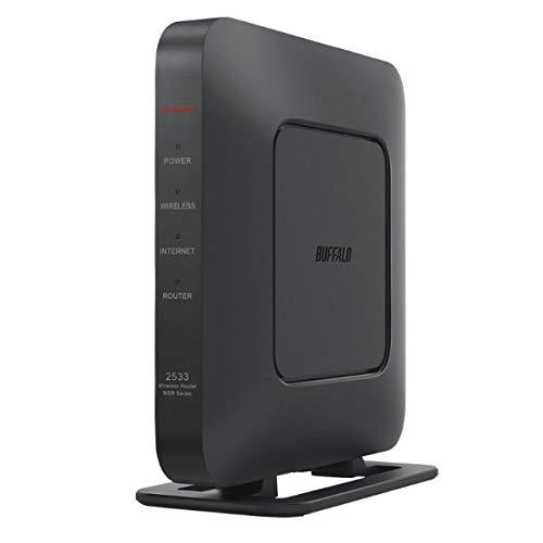 バッファロー 11ac対応 1733+800Mbps 無線LANルータ(ブラック) WSR-2533DHPL2-BK