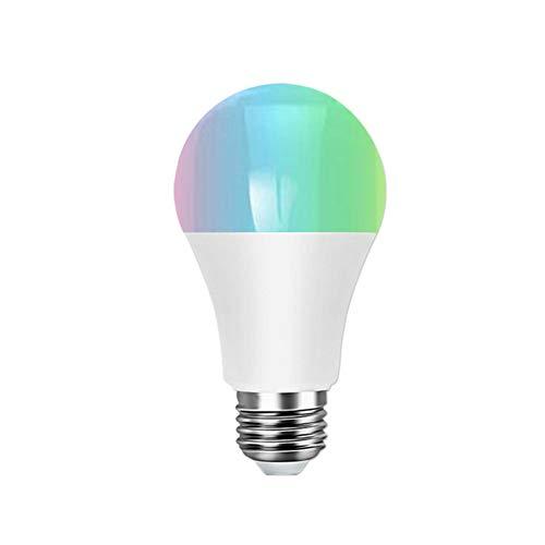 Tabanlly - Bombilla LED de Cambio de Color, Modo Ajustable, no Requiere buje, Bombilla Inteligente WiFi, 2