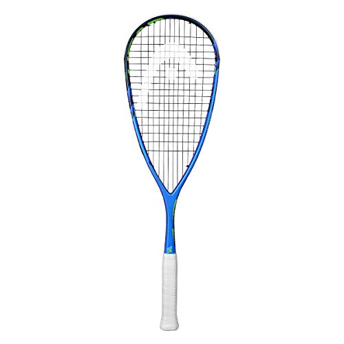 HEAD Extreme - Raqueta de Squash, 120 gram, Azul, Una Talla