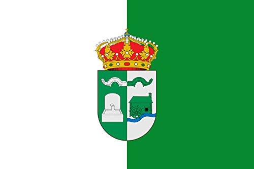 magFlags Bandera Large Municipio de Viana de Jadraque Castilla-La Mancha | Bandera Paisaje | 1.35m² | 90x150cm