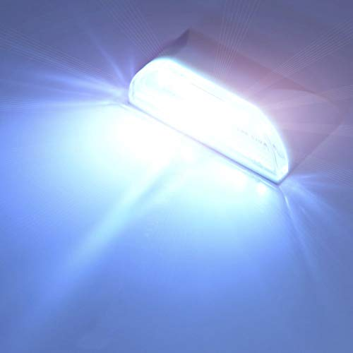 XHSHLID 4 LED Luz de Ojo de Cerradura inalámbrica Sensor
