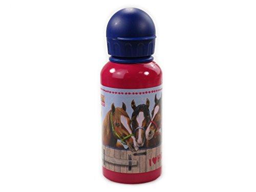 Alu-Trinkflasche Pferdefreunde (0,4 l)