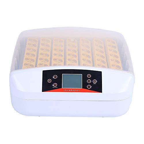 Automatischer Inkubator Brutmaschine für 56 Eier  56 LED Lichter Motorwender  automatische Steuerung