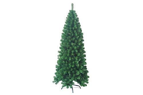 Albero di Natale Slim Montezuma 210 cm 748 rami - diametro 91 cm