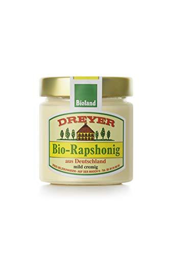 Dreyer Bioland Deutscher Rapshoni, Honig, 250 gramm