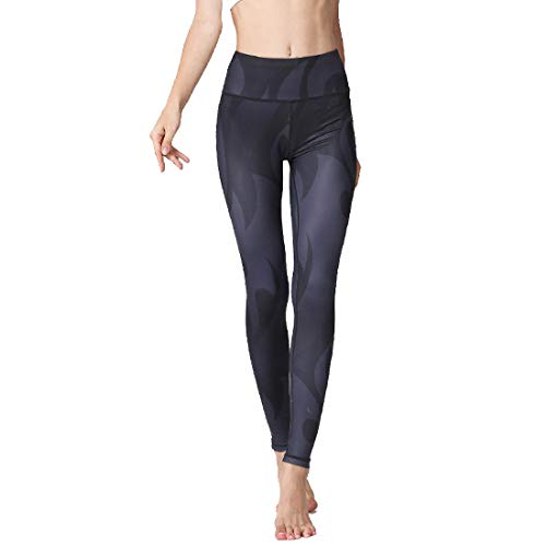 Adelina Dames yogabroek taille stretch hoge druk leggings workout fitness Fashion Completi lopen casual fietsbroek broek broek
