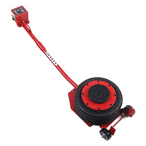 WYZXR Gato neumático de 3 toneladas, Gato de Aire de Triple Bolsa, Elevador de Soporte de Gato para reparación de automóviles, Rango de Altura de elevación 15-40 cm