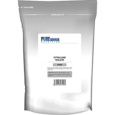 PSN 100% Pure Citrulline Malate Powder 2:1 Ratio 500g Unflavoured Vegan Pump   Nitric Oxide