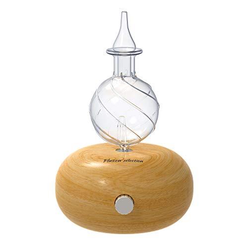 Aroma diffuser, Duftöldiffusoren, elektrischer Vernebler für ätherische Öle. Aromatherapie durch Trocken- und Kältezerstäubung für Schlafzimmer, Büro, Spa. Diffusor Aromatherapie mit 7 Farben LED.