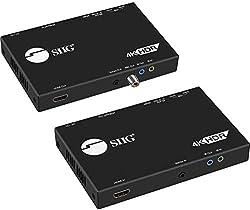 powerful SIIG HDBaseT HDMI Extender 4K 60Hz HDR HDMI 2.0, USB 2.0 KVM RS232 and Dual IR…