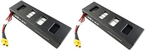 Fytoo 2pcs 7.4V 1800mAh LiPo Batería para MJX B3 B3H Bugs 3H Bugs 3 F17 F100 RC Drone Quadcopter