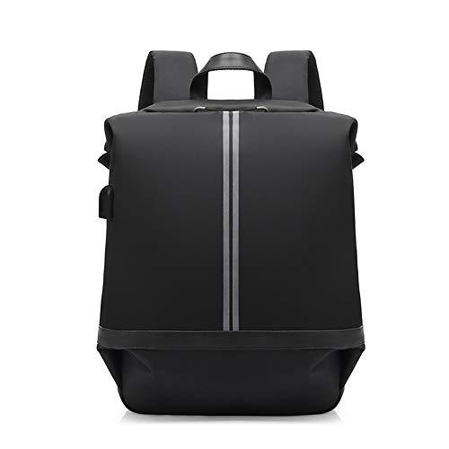 Rucksack Freizeit wasserdicht USB wiederaufladbare Schulter Herren Tasche Nacht Glow Bag Multifunktionsrucksack