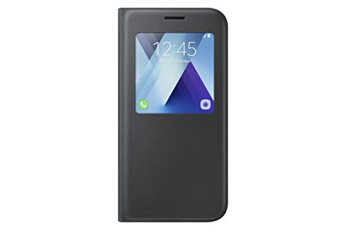 SAMSUNG S View Standing Cover - Funda Galaxy A5 2017, Color Negro