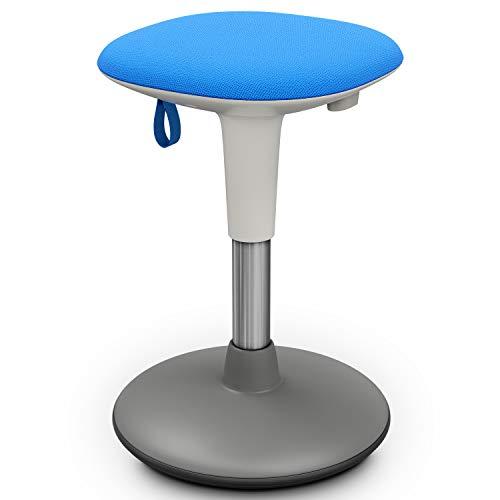 Wackelhocker, Bürohocker, höhenverstellbarer Bürostuhl, Stehpulthocker für dynamisches Sitzen, Stehpultstuhl für Stehpult