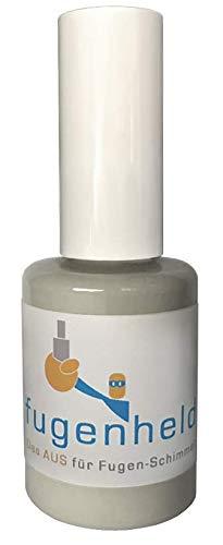 Pintura antimoho para juntas, color gris, muy buena cobertura, resistente al moho, 1 x 15 ml (gris claro)