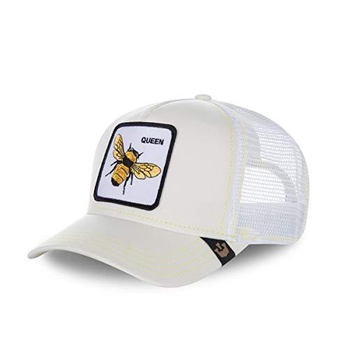 Gorra trucker blanca abeja Queen Bee de Goorin Bros. - Blanco, Talla única