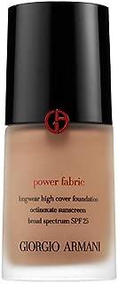 Giorgio Armani Beauty Power Fabric Longwear High Cover Foundation SPF 25 - Shade 7.5 - tan skin with golden undertone