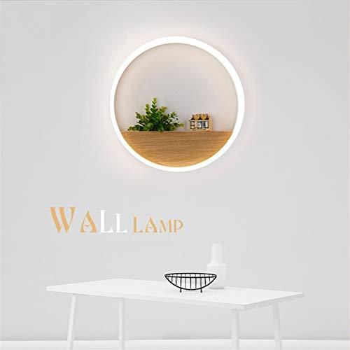 QIQIZHANG Lámpara de Pared Retro Aplique, Lámpara de Mesa lámpara de Pared LED lámpara Minimalista Moderna Sala de Estar Dormitorio Pasillo del Pasillo del Fondo de la Pared de TV